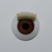 Nº 18 BROWN FIXED RED. WITH BLOND EYELASH