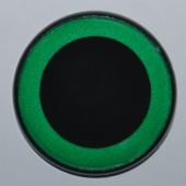 GREEN PLUSH TOY EYE
